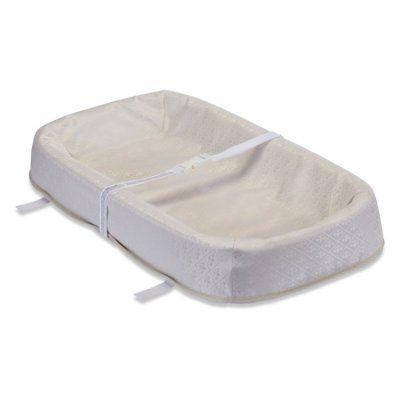 4 sided changing pad with organic cotton