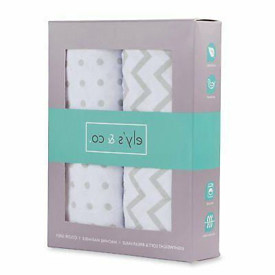 NEW Aden /& Anais for Target Baby Changing Pad Cover 100/% Cotton Blue Stripe Boys