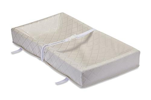 """LA Baby Madison Jacquard 4 Sided Changing Pad, 32"""" - Made in"""