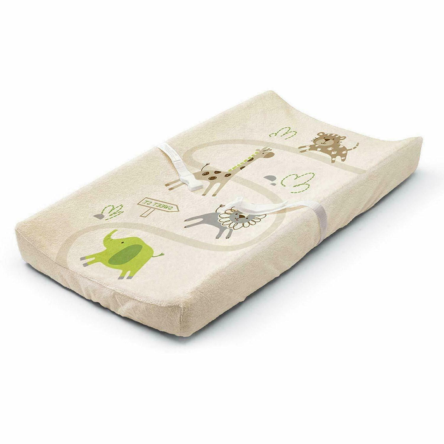 Summer Infant Ultra Plush Changing Pad Cover, Safari