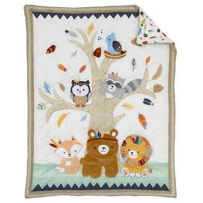 Nojo Forest Crib Bedding Set Include Extra