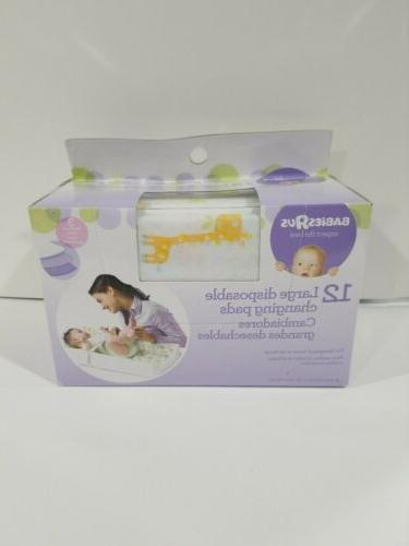 babies r us 12ct disposable changing pads