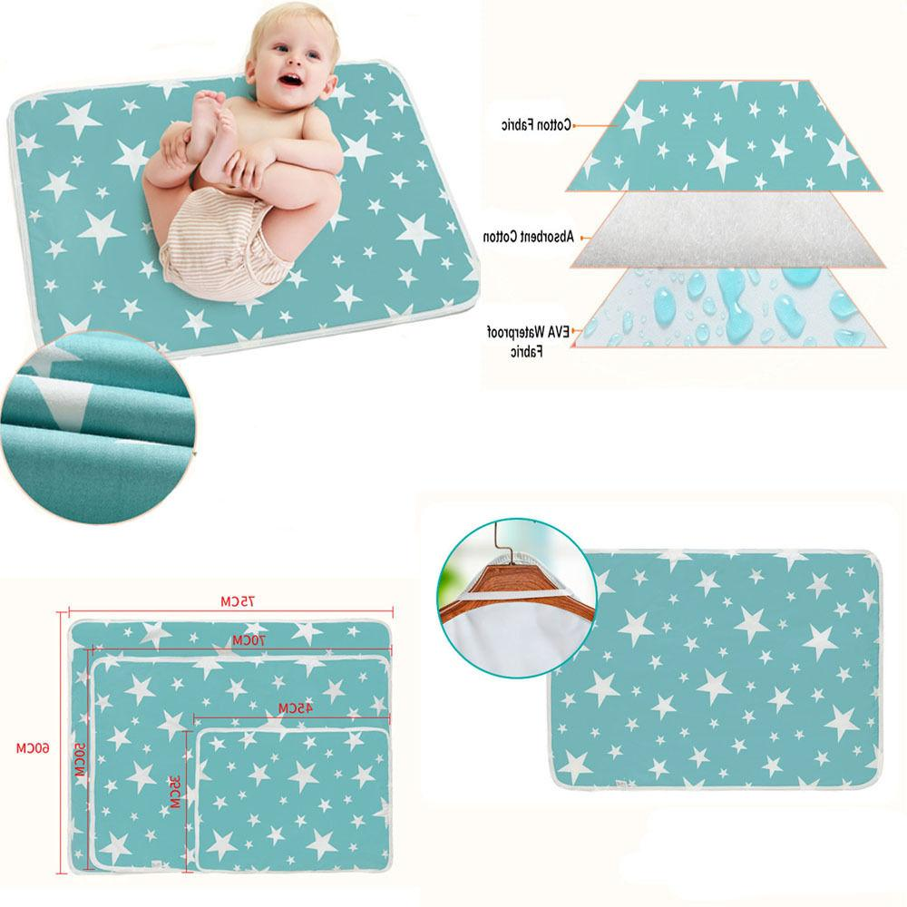 Durable Changing Pad Waterproof Cover Toddler