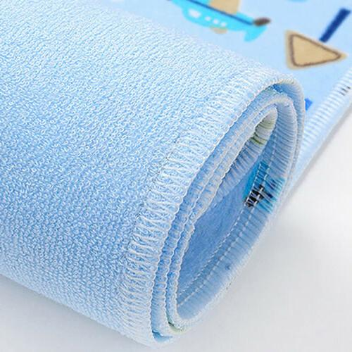 Baby Changing Pad Cotton Washable Infants Urine Mat Waterproof