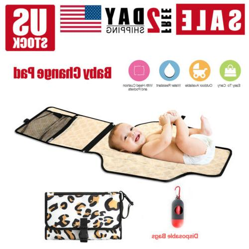 baby changing diaper pad fold able outdoor