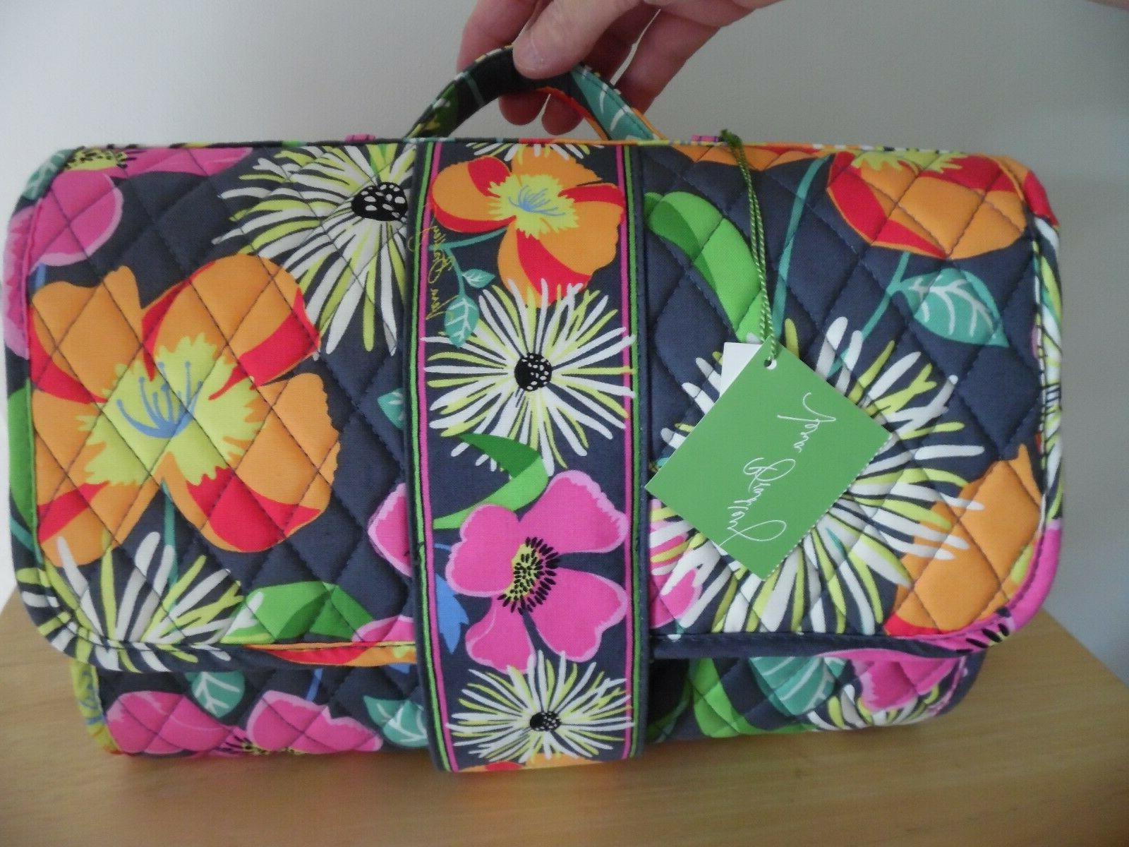 baby changing pad clutch in jazzy blooms