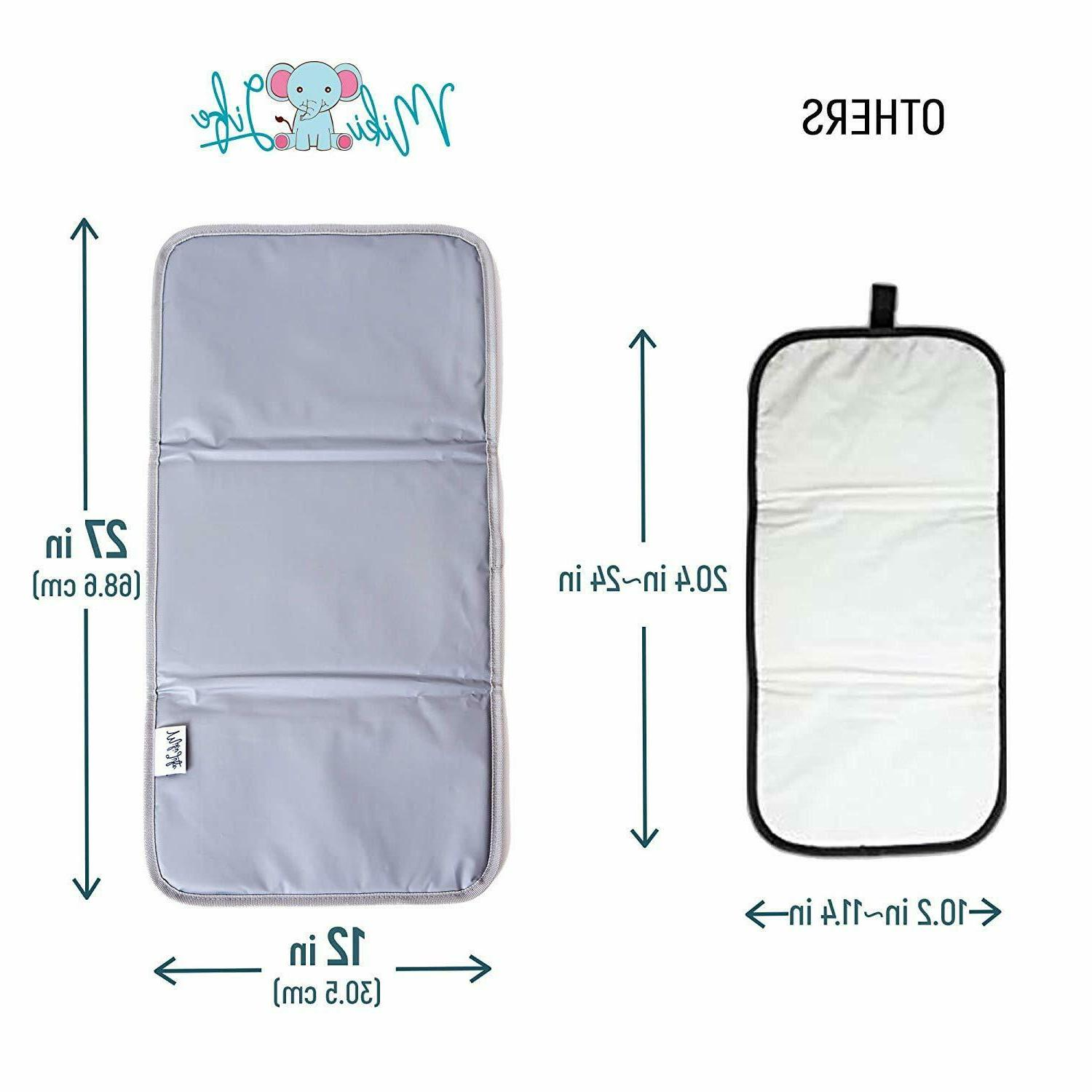 Baby Changing Padded for Baby's,Foldable Large Mat