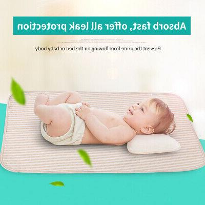 Baby Infant Diaper Nappy Urine Mat Kid Waterproof Bedding Ch