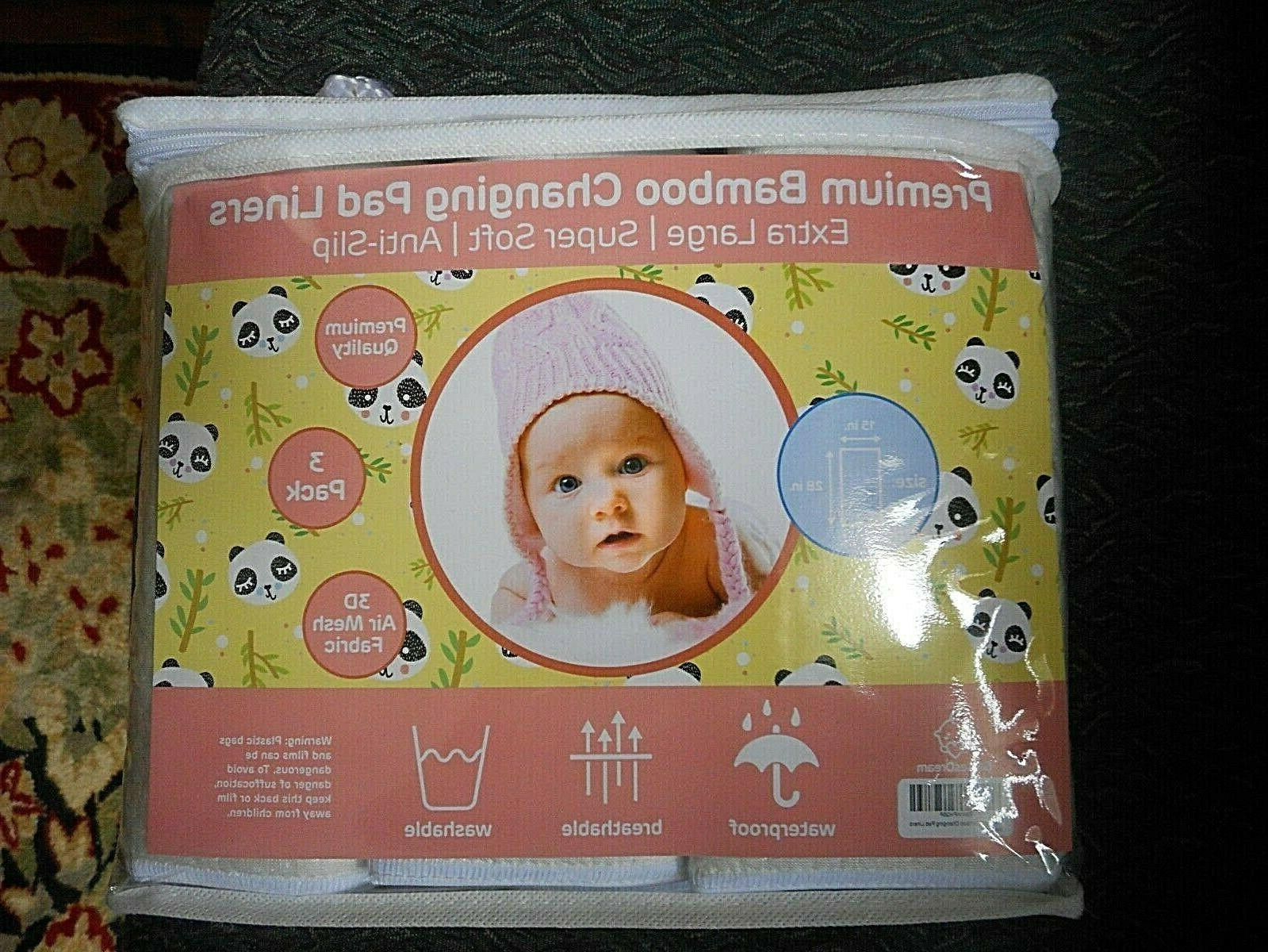 baby changing pad liners washable ex large