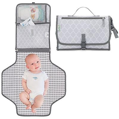 Baby Portable Changing Pad, Diaper Bag, Travel Mat Station G