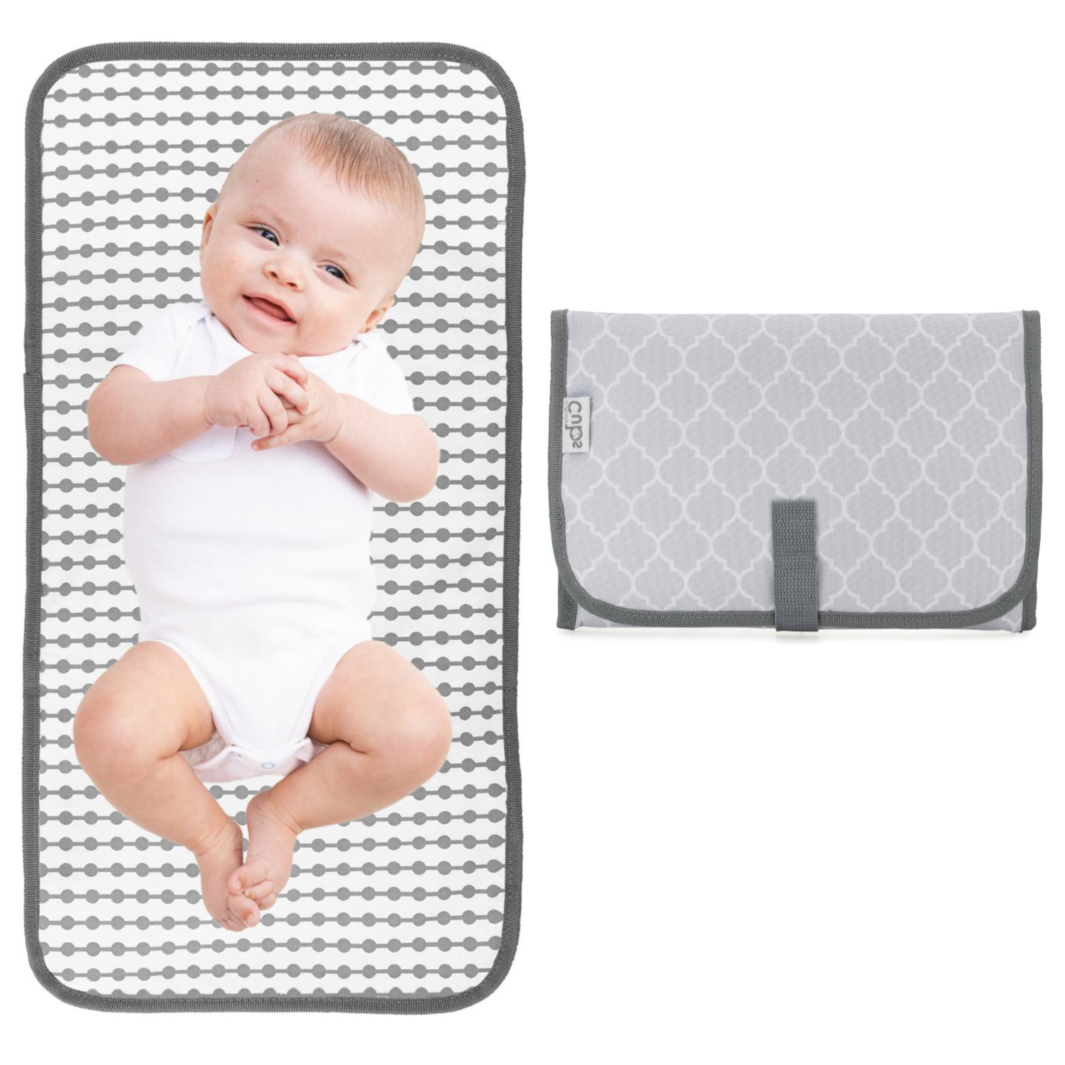baby portable changing pad travel mat station