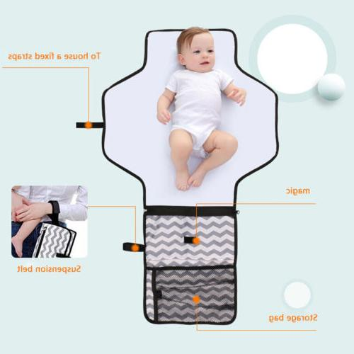 Baby Foldable Changing Waterproof Diaper Pad