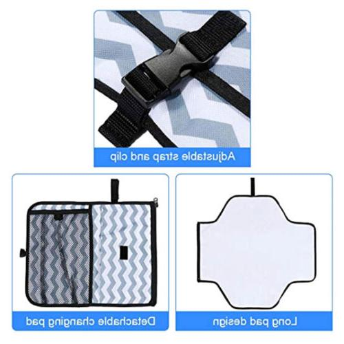 Baby Portable Diaper Changing Mat Travel Diaper US