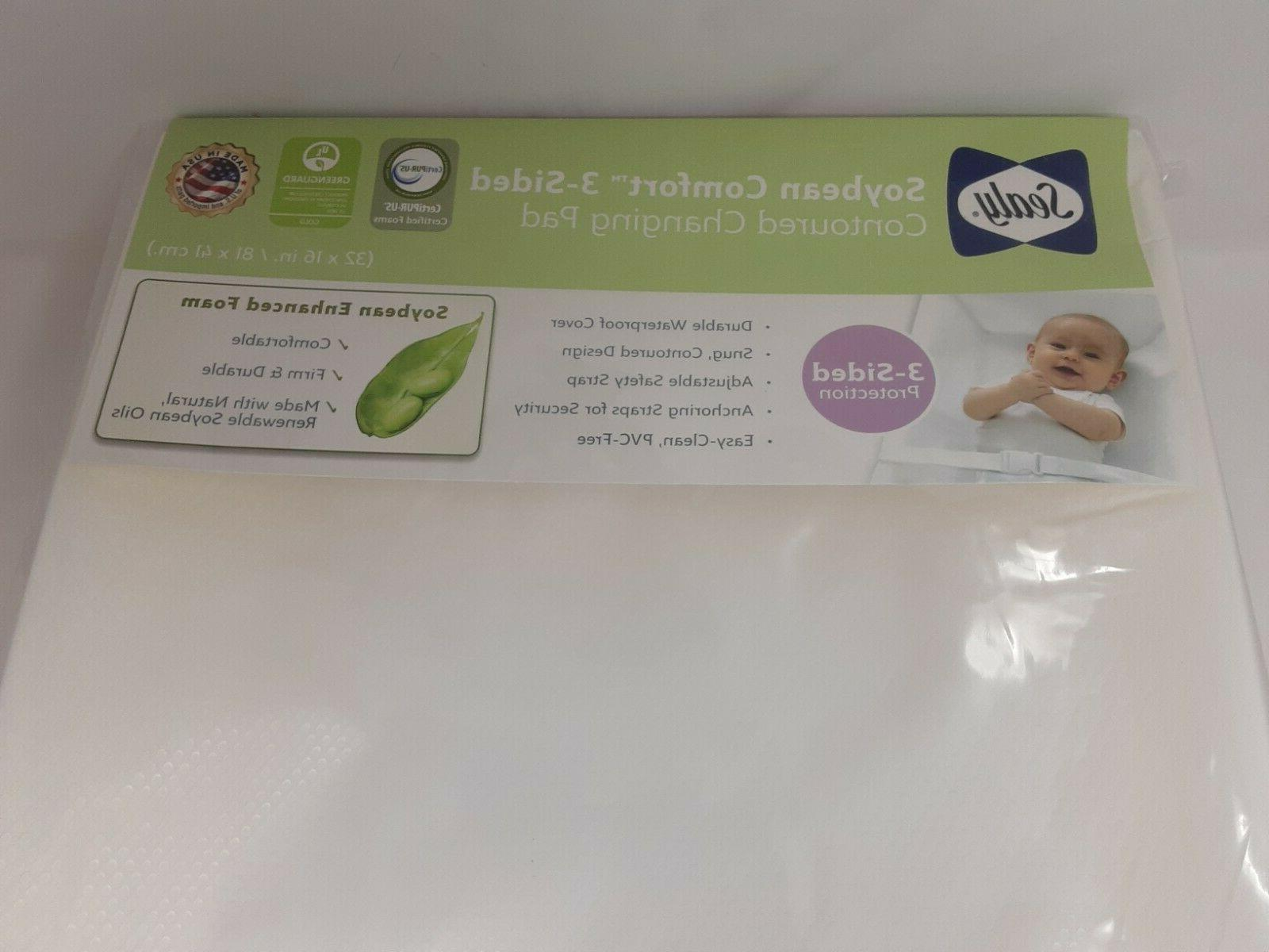 baby soybean comfort 3 sided contoured diaper