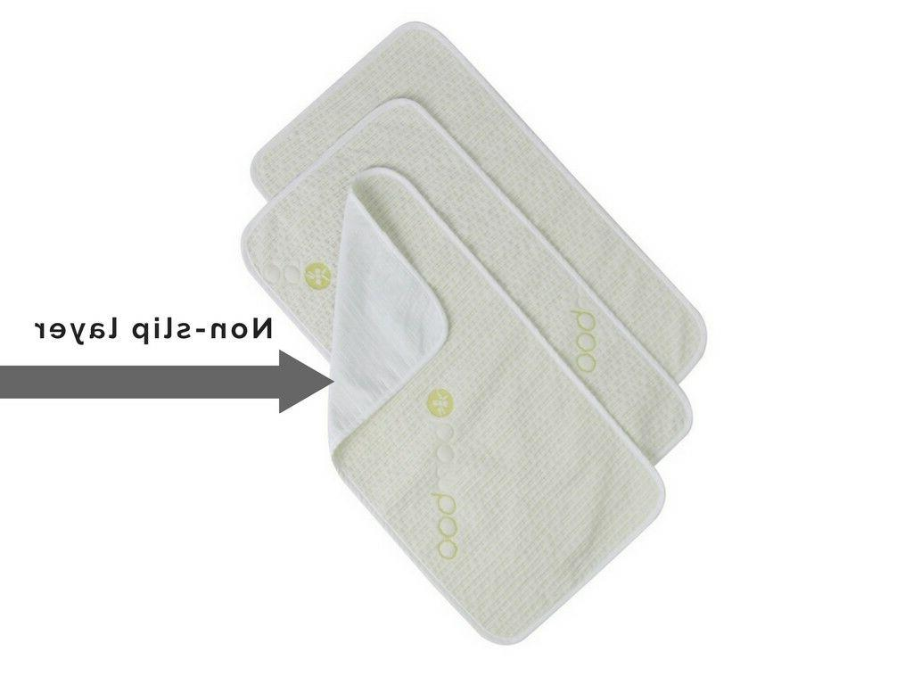 bamboo changing table pads pack