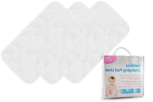 bamboo changing pad liners