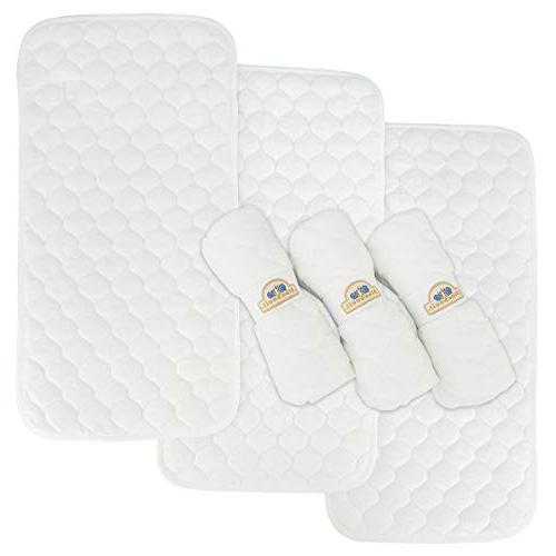 bamboo quilted thicker waterproof changing