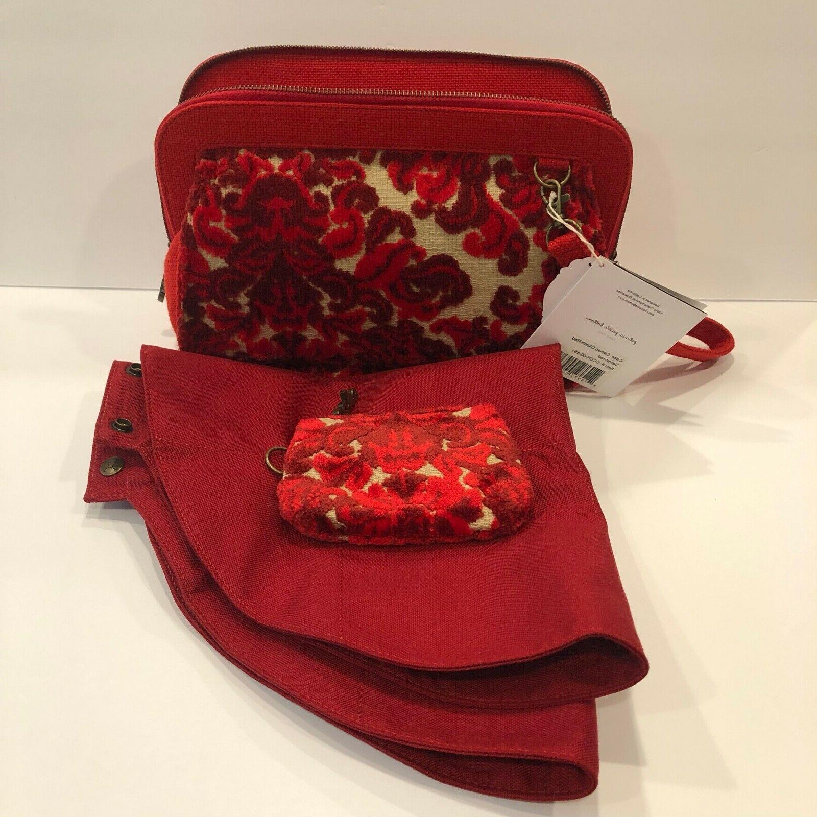 Cake by Bottom Clutch Coin Red