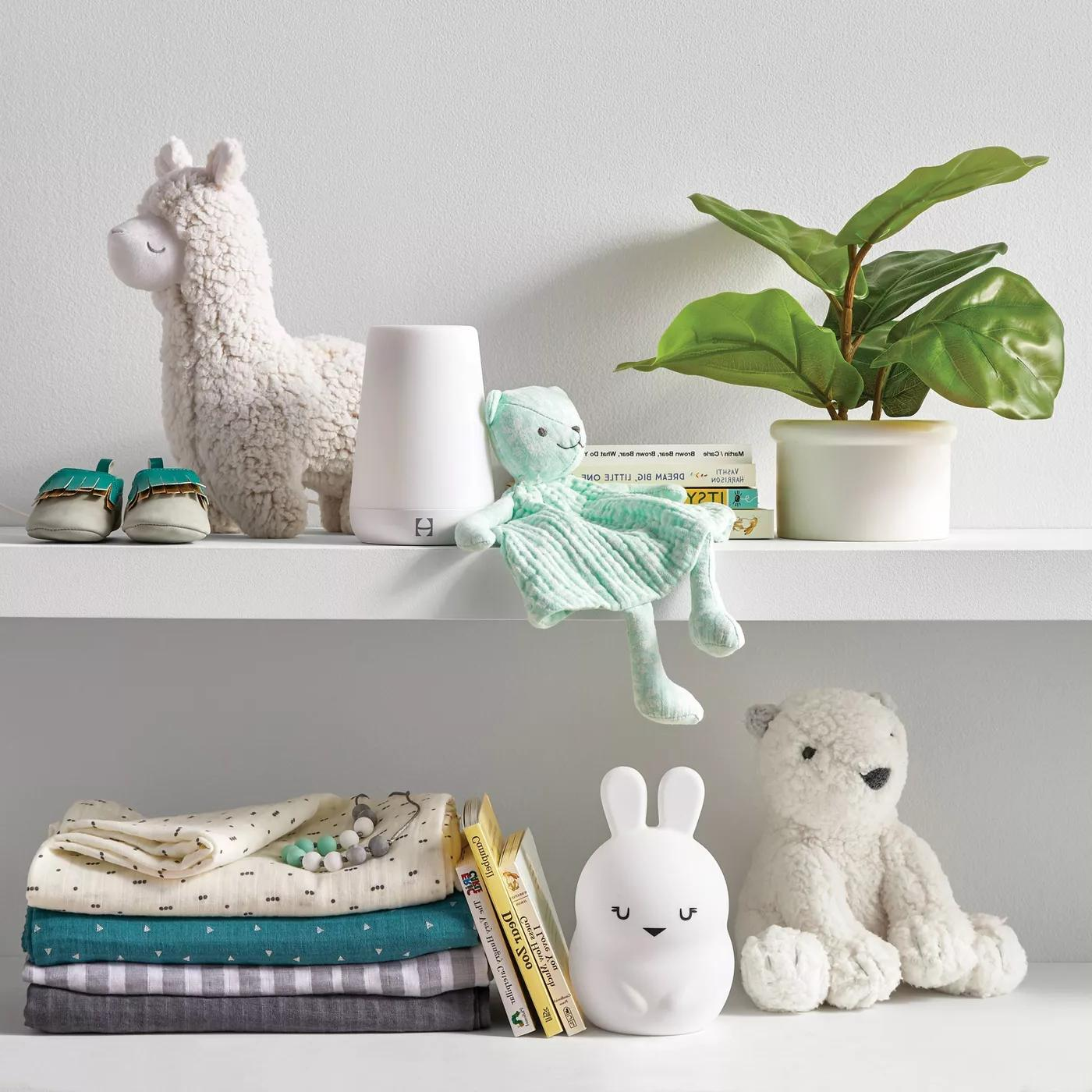 Changing Pad Mint Ditsy & Floral