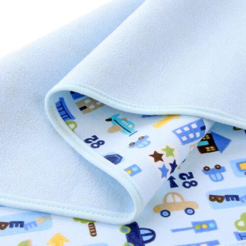 Waterproof Changing Pad Flannel Washable Baby