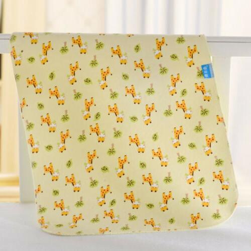 Waterproof Diaper Flannel Washable Baby Urine Mat Nappy