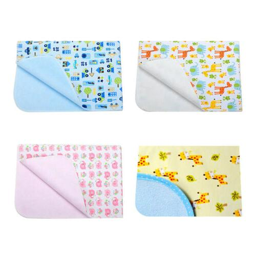 waterproof changing diaper pad flannel washable baby
