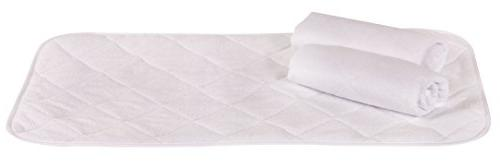 "Changing Pad Liners - Waterproof, Ultra-Soft, Made Cozy Fabric 4 Thick Washer/Dryer Friendly 14"" for Protection"