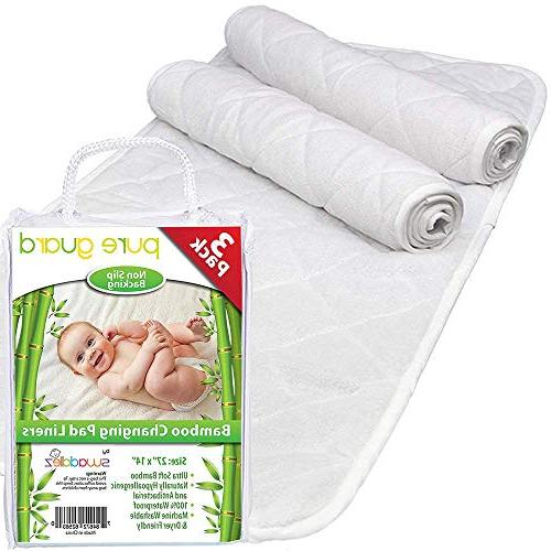 changing pad liners non slip