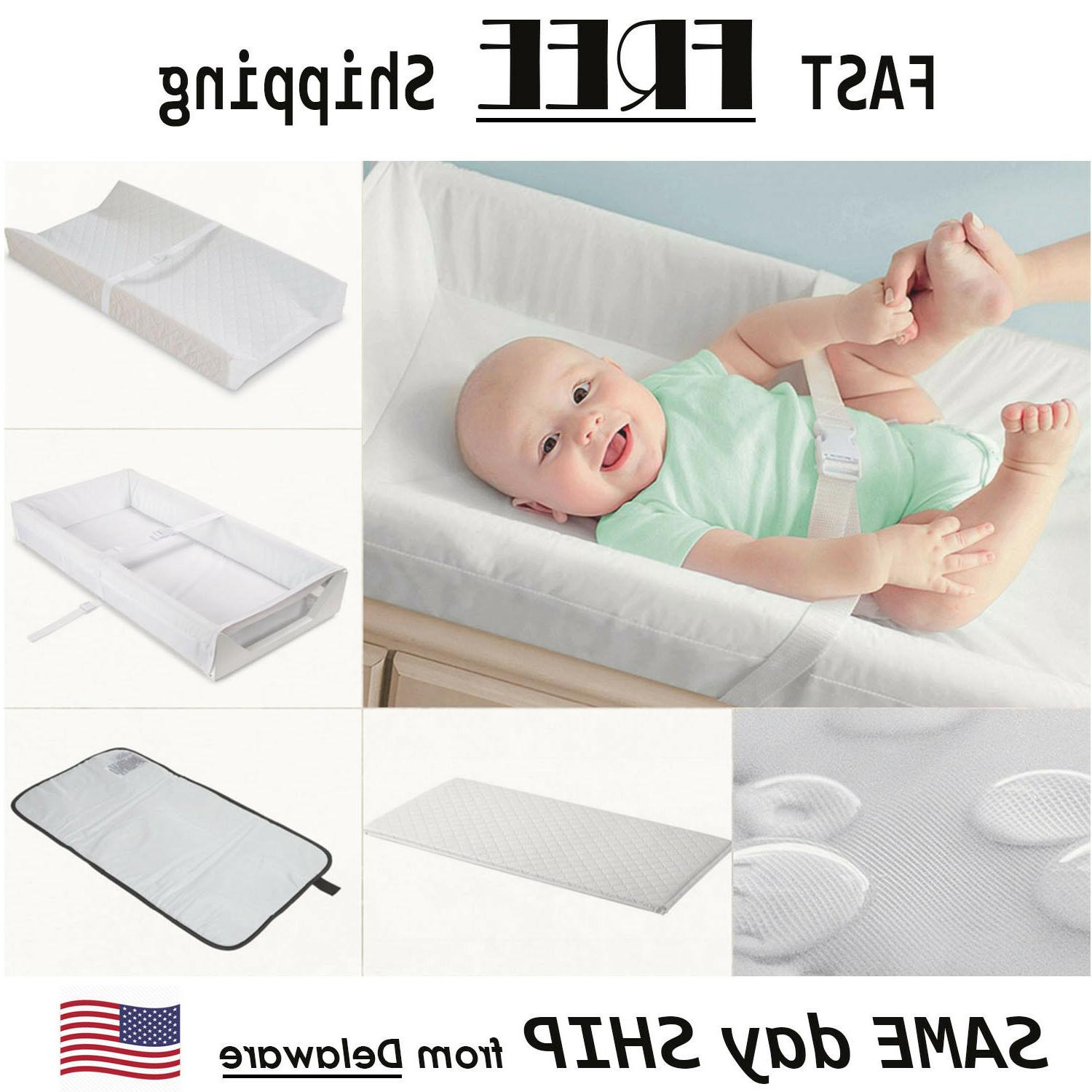 contoured changing pad baby diaper portable waterproof