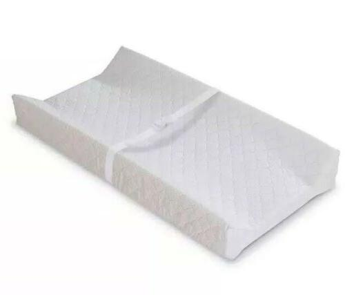 contoured changing pad quilted vinyl waterproof 16