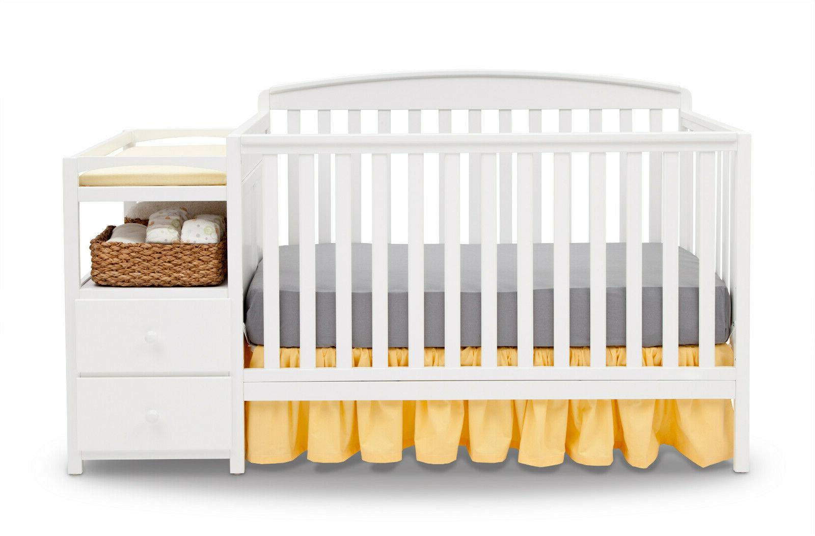 Convertible Baby Changing 4-in-1 Nursery Room