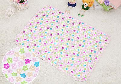 Cotton Baby Infant Nappy Mat Bedding