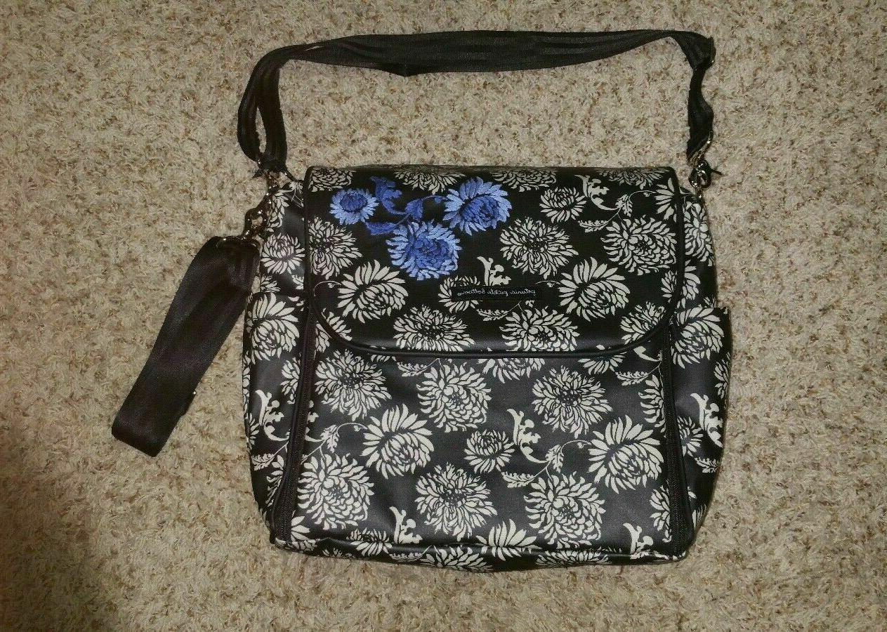 diaper bag backpack crossbody with changing pad