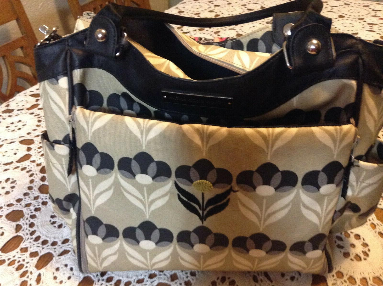 diaper bag purse bag with changing pad