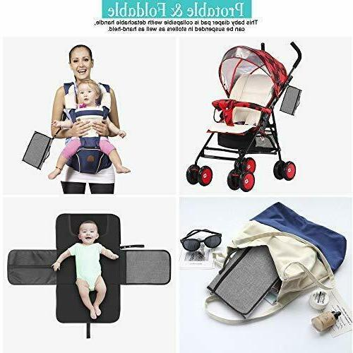 Diaper Changing Babies Portable Mat Wipeable