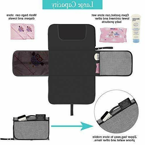 Diaper Changing For Babies Portable Travel Wipeable Waterproof Station