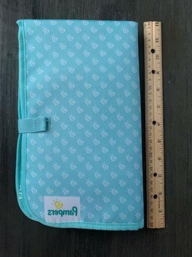 Set Of Diaper Changing Teal Green