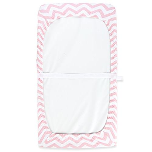 Cuddly Cubs Diaper Changing Table Cover for Baby | Soft Jersey Unisex Elastic Nursery & Sheets