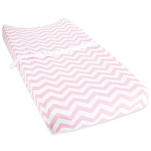 Cuddly Cubs Table Pad for Soft Breathable Jersey Cotton Unisex Elastic Design Nursery & Bedding Sheets