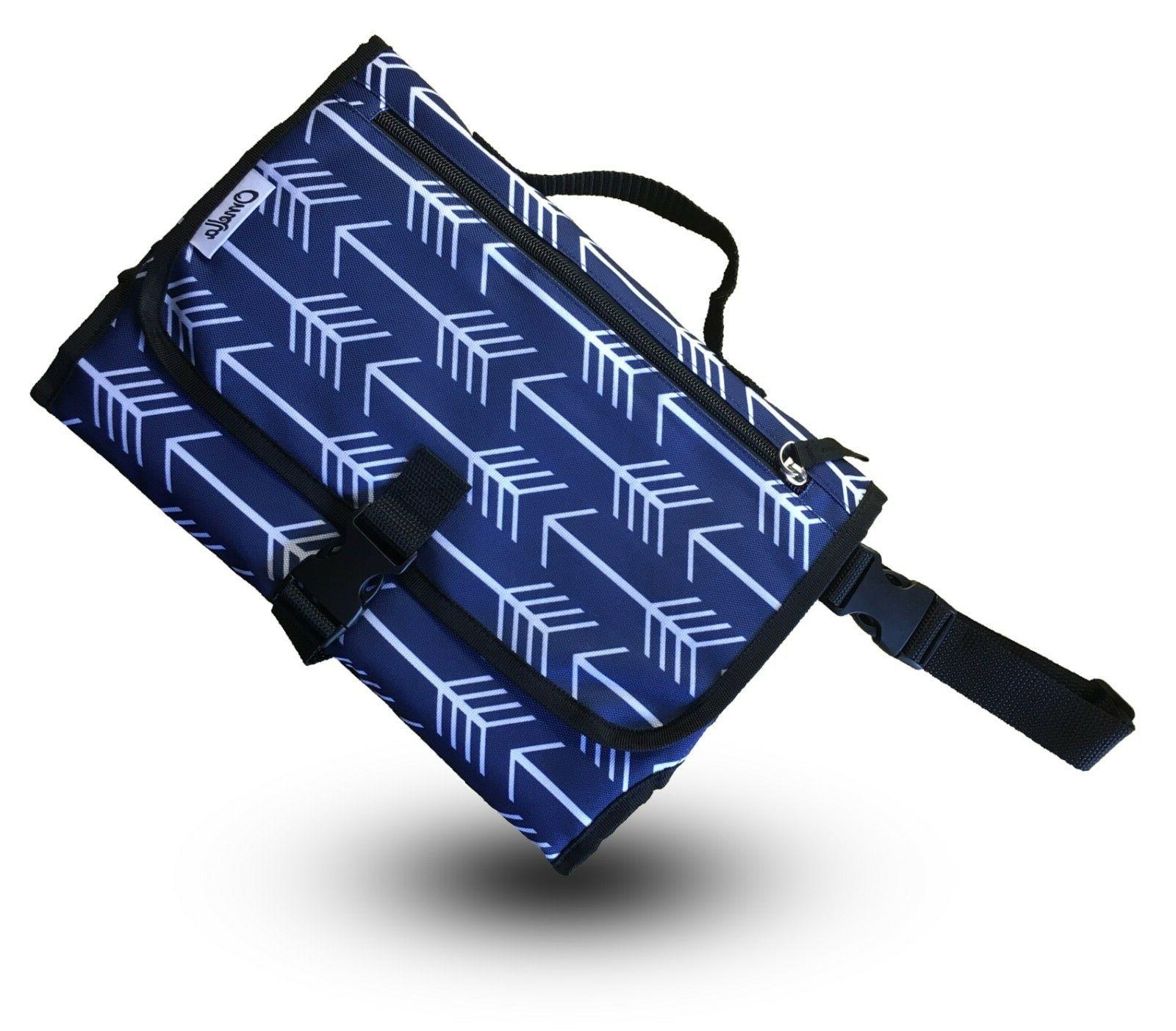 Diaper Clutch Portable Baby Changing Pad Station Travel Fold