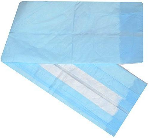 Disposable Liner 50 - Absorbent Hospital Underpad for Incontinence with Protector by
