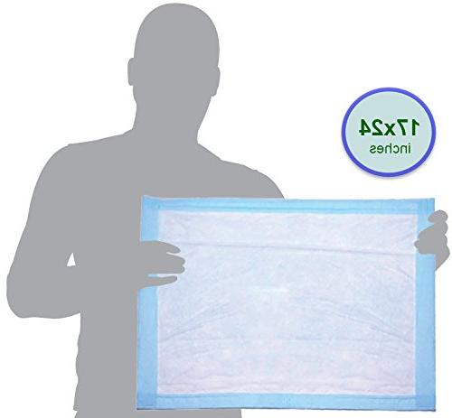 Disposable Changing Liner Economy 50 Absorbent Hospital Underpad for Protector Small by BrightCare