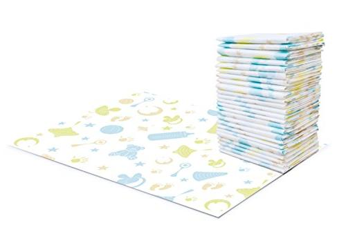 disposable changing pads leak proof