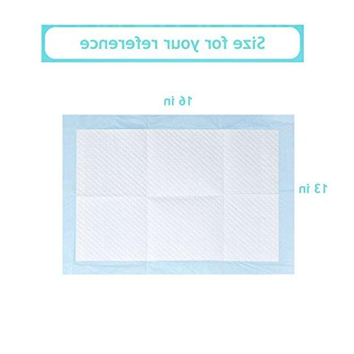 Bocks Baby Disposable 100 Incontinence Pad with Non-Woven Fabric, Breathable, Proof inch