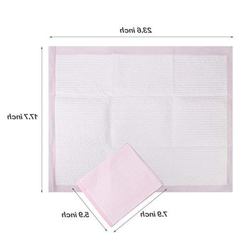 Baby Pads Puppy Pads Changing Table & Mat,Breathable Waterproof Protection 30 Pack,17.7X