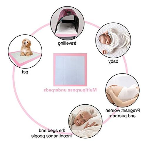 Baby Pads Pet Training and Puppy Portable Changing 30 23.6in