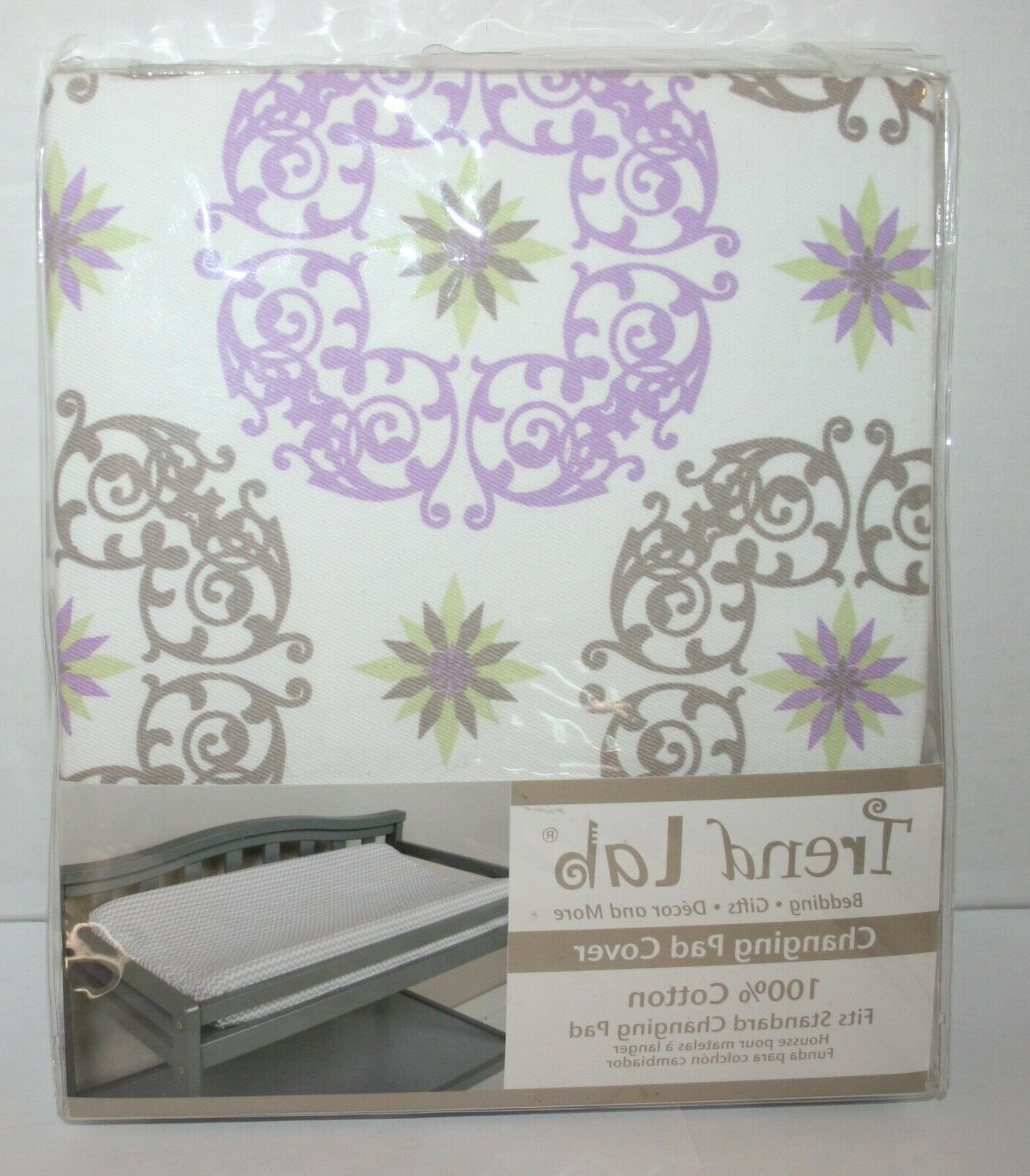 florence 100 percent cotton changing pad cover
