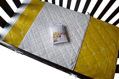 iLuvBamboo Baby Waterproof Bamboo with Long Baby's Mattress. Enjoy of Mind Newborn Twin Sleep Other Pads