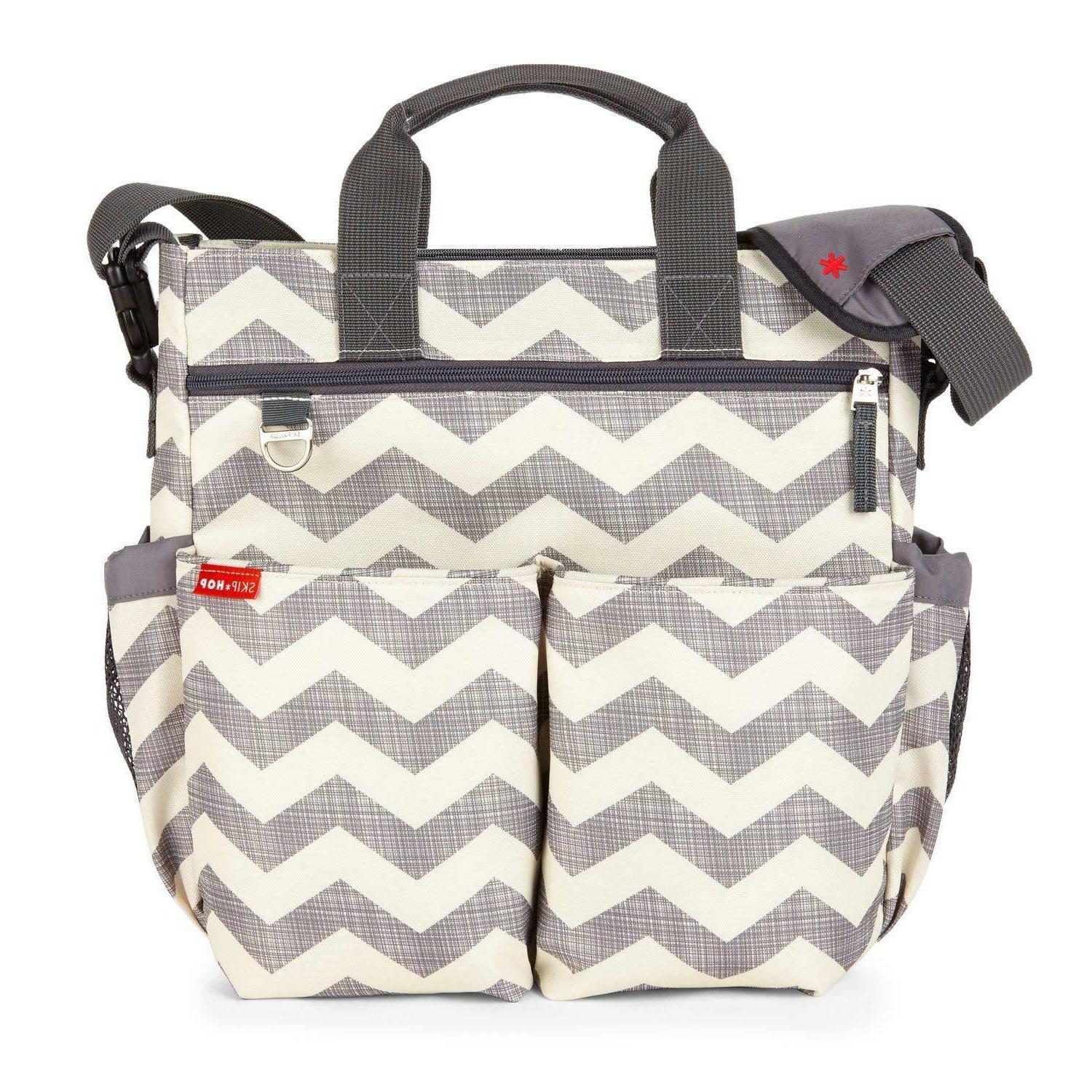 Skip Diaper Bag With Pad,Duo Signature
