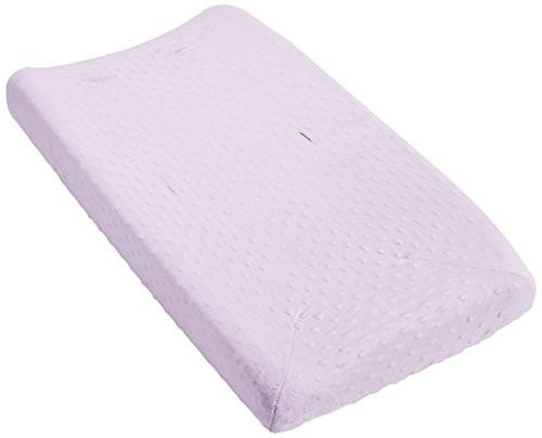 minky dot changing pad cover